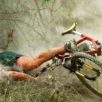 Caida en Bicicleta