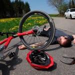 Causas de Caidas en Bicicleta